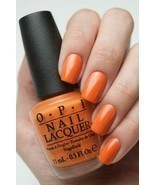 OPI Coca-Cola ORANGE YOU STYLISH! Orange Creme Nail Polish Lacquer .5oz ... - $12.86