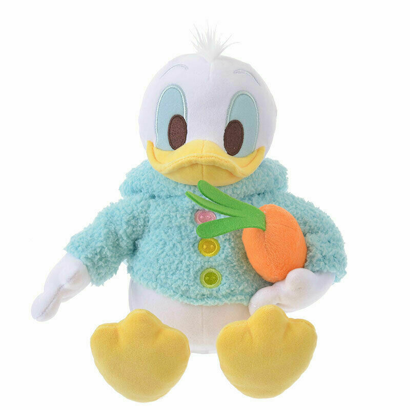 Disney Store Japan Easter Bunny Donald Plush New with Tags