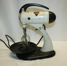 Vintage Sunbeam Mixmaster 10-Speed Electric Mixer, Stand or Hand-Held, 1... - $29.69