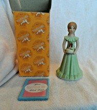 Growing Up Birthday Girls Age 11 Year Figure Bisque Porcelain-Enesco - $8.50