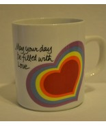 "Vintage Avon Easter 1983 The Love Mug Coffee ""May your day be filled wit... - $4.95"