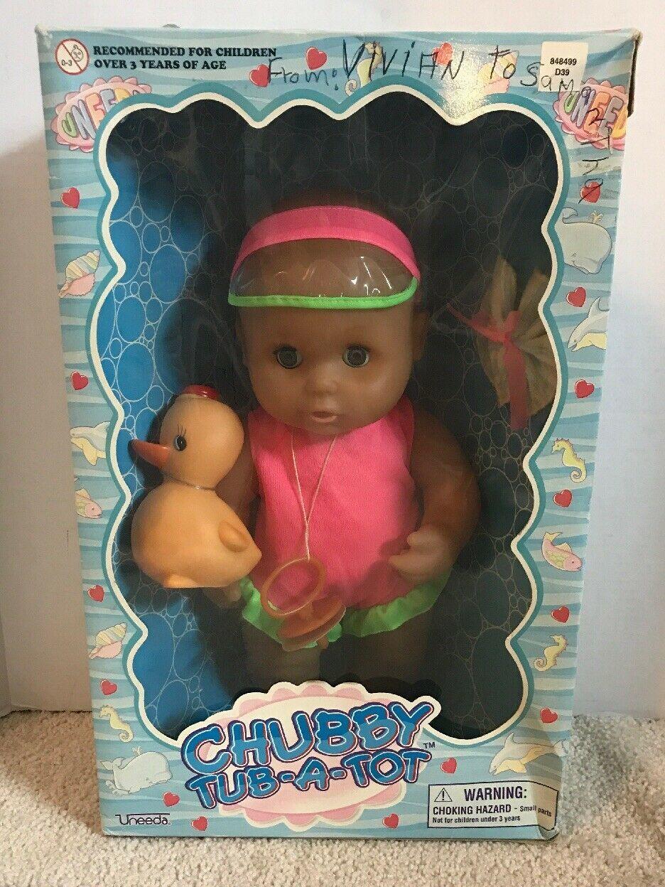 Vintage 1998 Uneeda Chubby Tub A Tot Doll NIOB New - $33.65