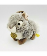 "Baby Bunny Tan Miyoni Tots Aurora Plush Stuffed Animal 7"" Easter Basket - $10.00"