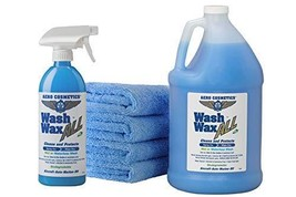 Wet or Waterless Car Wash Wax Kit 144 Ounces. Aircraft Quality for Your ... - $37.01
