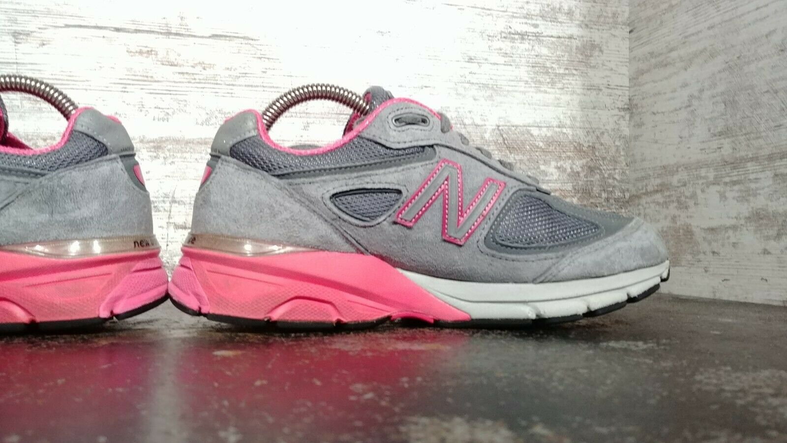 Womens New Balance 990 V3 Running Shoes SZ 7 D Wide Used Sneakers Trainers image 7