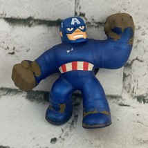 Captain America Goo Jit Zu Super Stretchy Figure 2020 Marvel Moose - $19.79