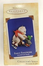 "Hallmark Keepsake ""Fancy Footwork"" Snowball and Tuxedo Ornament 2004 - $28.04"