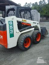 Bobcat 653 Skid Steer Loader Workshop Service Manual - $20.00