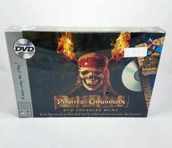 Disney Pirates Of The Caribbean DVD Treasure Hunt Family Board Game 2006 New - $25.25