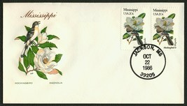 Mississippi-Mockingbird & Magnolia, HF-Sealed Flap **ANY 4=FREE SHIPPING** - $1.00