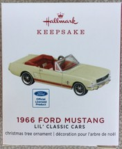 2019 Hallmark 1966 Ford Mustang 2nd in Lil Classic Car Series Miniature ... - $14.95