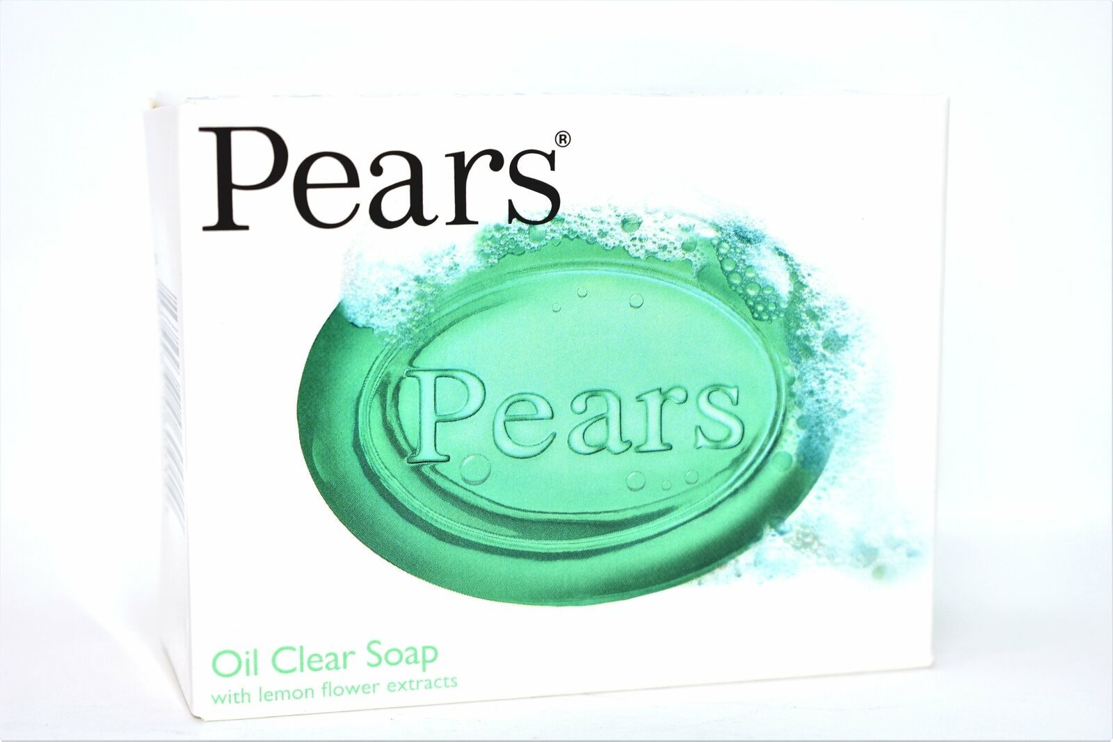 Pears Oil Clear Soap With Lemon Flower Extracts Bar Soap, 100g, 1 ct.