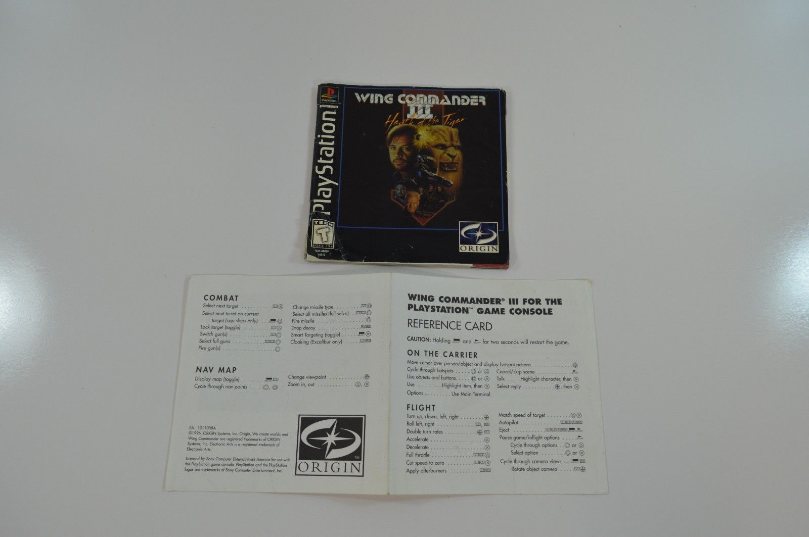 Playstation 1 Ps1 Wing Commander Iii Heart And 50 Similar Items