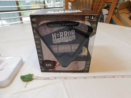 TRIVIAL PURSUIT Horror Movie Edition NEW 100 Years of horror Game 600 qu... - $31.92
