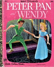 Little Golden Book - Peter Pan and Wendy (Walt Disney) - $4.95