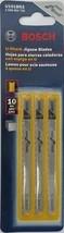 Bosch U101BR3 10tpi U-Shank Jigsaw Blades 3Pcs. Swiss - $2.97