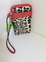 Coach Park Universal Case Wallet Ocelot Red Black White 66163 W23 - $49.49