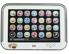 Fisher-Price Laugh & Learn Smart Stages Tablet, Gray Excellent Condition... - $14.80