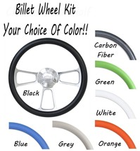 Billet Steering Wheel for 1974 - 94 Chevy C/K Series Truck - Choose Your Color - $175.99