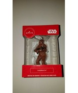 Hallmark ornament disney star wars chewbacca  new in box christmas decor - $20.95