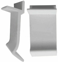 """10 Table Rim Furniture Clips 1 1/4""""  for Glass and Acrylic Table Tops - $7.67"""