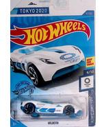 Hot Wheels 167/250 VELOCITA TOKYO 2020 OLYMPIC GAMES 9/10 WHITE - $8.90