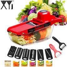 XYJ CCFG8901 Multi-function Vegetable Cutter Steel Blade Mandoline Slice... - $34.99