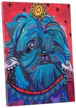 "Pingo World 0708QAUJVXS ""Heather Galler Affenpinscher Dog"" Gallery Wrapp... - $53.41"