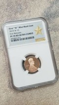 2019 W LINCOLN CENT 1C MINT MARK NGC PF 70 RD UC FIRST Releases Coin image 2