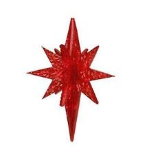"""PENN 19"""" LED Red Twinkling 3D Bethlehem Star Hanging Christmas Decor - $43.30"""