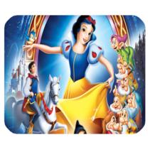 Mouse Pad Disney Fairy Tale Snow White & Seven Dwarfs Disney Animation - $6.00