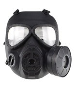 PeleusTech WST Head Mask Full Face Single Canister Electric Ventilative ... - €19,49 EUR