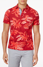 Tommy Hilfiger Men's Kevin Graphic Print Short-Sleeve Polo , Size L, MSRP $69 - $34.64