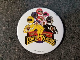 Vintage 1994 Power Rangers Mighty Morphin Saban Pin Button Pinback - $3.95
