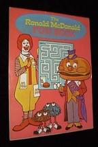 McDonald's McDonalds Ronald McDonald Fun Book 1978 McDonalds System Inc. - $20.00