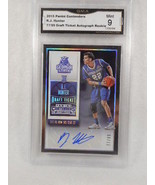 2012 Panini Contenders #77/99 R.J. Hunter Draft Ticket Auto Rookie GMA G... - $64.34