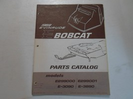 1969 Evinrude Bobcat Snowmobile Parts Catalog Models E299000 E299001 E-3090 3890 - $19.75