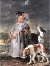 """8x10"""" Cotton Canvas Print, Portrait of a Young Boy, c.1650, Erasmus Quel... - $15.99"""