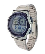 Casio AE1000WD-1A Digital Watch World Time 100 M Water Resistant 10 Year... - $32.70