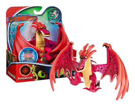 """Dreamworks Dragons Legends Evolved Hookfang 8"""" Figure New in Box - $24.88"""