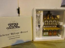 Dept 56 55840 Theatre Royal Heritage Village W/CORD Boxed D4 - $22.49