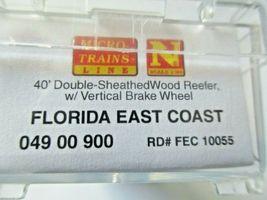 Micro-Trains # 04900900 Florida East Coast 40' Double-Sheathed Wood Reefer (N)  image 5