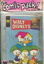 Walt Disney Comics and Stories Whitman Comics 3 Pack 1970's-Uncle Scroog... - $93.12