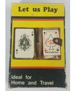 Let Us Play Playing Cards 1977 Emson Inc For Home or Travel - $14.01
