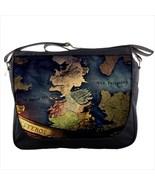 New Game Of Westeros Maps Custom Print Messenger Bag L - $30.99