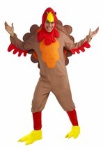 Forum Novelties Fleece Turkey Thanksgiving Adult Mens Halloween Costume ... - $39.99