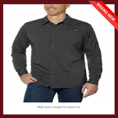 Primary image for Gerry Men's Highly Breathable and Quick Dry Long Sleeve WovenShirt