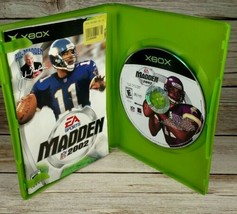 Madden NFL 2002 (Microsoft Xbox, 2001) - Disc Complete - $2.99