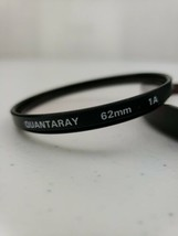 Quantaray 62mm Skylight 1A Glass Camera Lens Filter Made In Japan With Case - $8.88