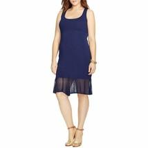 Lauren Ralph Lauren Women'S Scoop Neck Sleeveless Sweater Dress, Navy Bl... - $81.33
